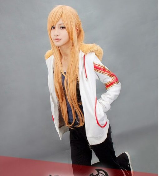 На картинке куртка Асуны «Sword Art Online», общий вид.