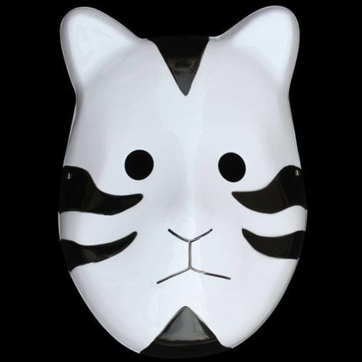 На картинке маска АНБУ (Наруто), вид спереди, цвет черный.