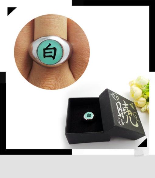 На картинке кольцо Акацуки (1 шт), вариант Кольцо Конан.