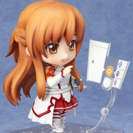 На картинке нендроид Асуна «Sword Art Online», общий вид.