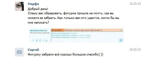 Сергей,Арсеньев,фигурка Зимняя мику,RL049637067CN