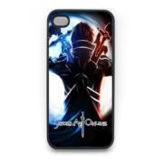 На картинке чехол на телефон «Sword Art Online» (iPhone 4-4S-5-6-6+, samsung s3-s4), вид сзади.