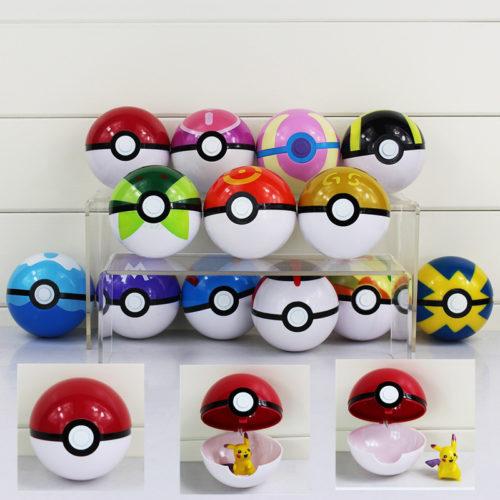 13-цветов-продвинутый-Pokeball-с-мини-Pokemon-рисунок-куклы-7-см-открытия-и-закрытия-мешке-мяч
