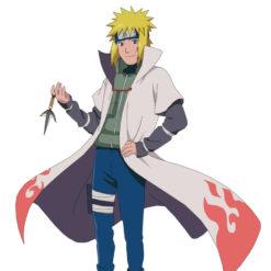 На картинке кунай Минато (Наруто) Naruto, кадр из аниме.