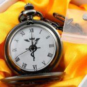 Часы Стального алхимика Эдварда Элрика фото