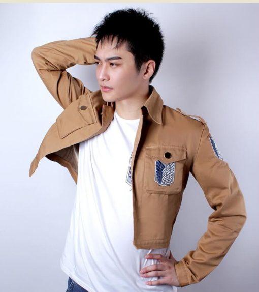 На картинке куртка Атака Титанов, общий вид.