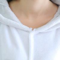 На картинке пижама-кигуруми «Тоторо», вариант зимний, детали.