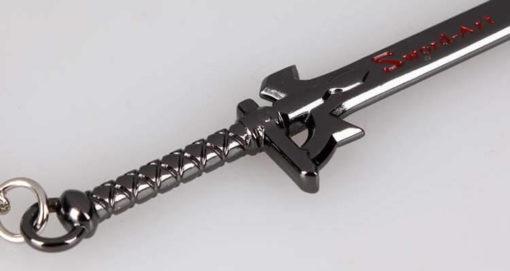 На картинке брелок-меч «Sword Art Online» (3 варианта), вариант Вразумитель, детали.