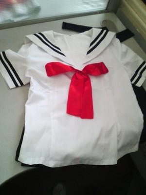 На картинке японская школьная форма (Вариант 4), детали.