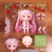 Фигурка нендроид Хатсуне Мику (Japanese cherry) фото