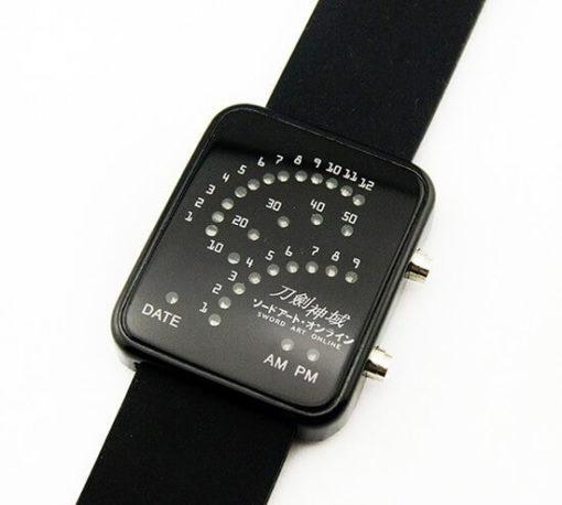 На картинке наручные часы «Sword Art Online».