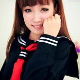 На картинке японская школьная форма (зимняя) 2 цвета, детали, цвет черный.
