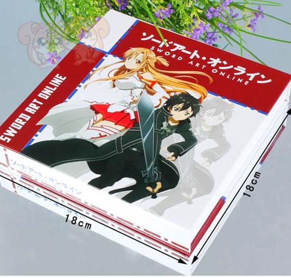 На картинке набор «Sword Art Online» №2, упаковка.