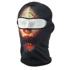На картинке маска балаклава с черепом (3 варианта), вариант Красный.