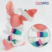 Мягкая игрушка покемон Сильвеон (Покемон), вид сзади