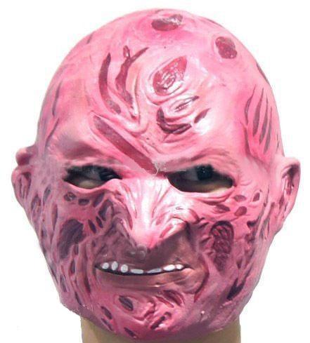 На картинке маска Фредди Крюгера, вид спереди.