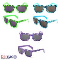 Пиксельные очки Майнкрафт (Minecraft) 3 варианта