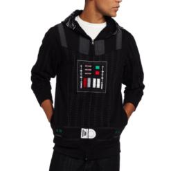 На картинке толстовка Star wars Дарт Вейдер (Звездные войны), вид спереди.