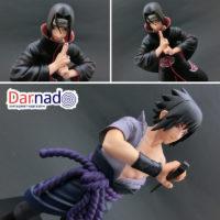 На картинке фигурка Саске и Итачи (Наруто) Naruto, детали.
