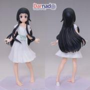 На картинке фигурка Юи Sword Art Online, вид спереди и сзади.