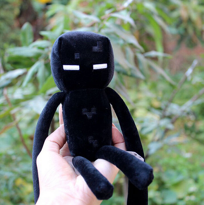 Черный-Minecraft-самый-дешевый-продажа-высокое-качество-Enderman-плюшевые-игрушки-Minecraft-игры-мультфильм-игрушки-мягкие-игрушки-и