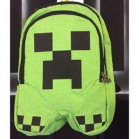 Школьный рюкзак Майнкрафт Крипер (Minecraft Creeper), реальное фото