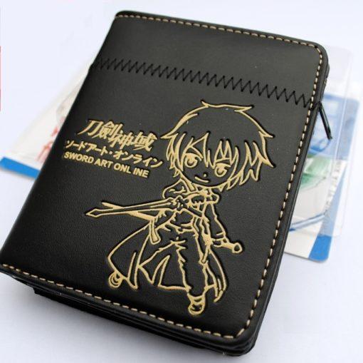 На картинке кошелек Кирито «Sword Art Online», общий вид.