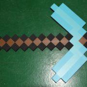 Кирка из Майнкрафт (Minecraft) — 2 варианта фото