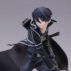 На картинке фигурка Kirito (Кирито) Sword Art Online, детали.