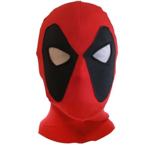 На картинке маска Deadpool (Дедпула), вид спереди.