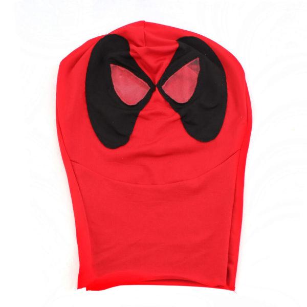 На картинке маска Дэдпула (Дедпула), вид спереди.