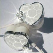 Наушники сердце (сердечко) (3 варианта) фото