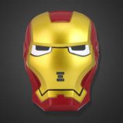 Маска Железного человека (светящаяся) фото
