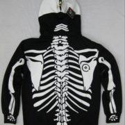 Толстовка скелет (2 цвета) фото