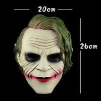 На картинке маска Джокера, вид спереди.