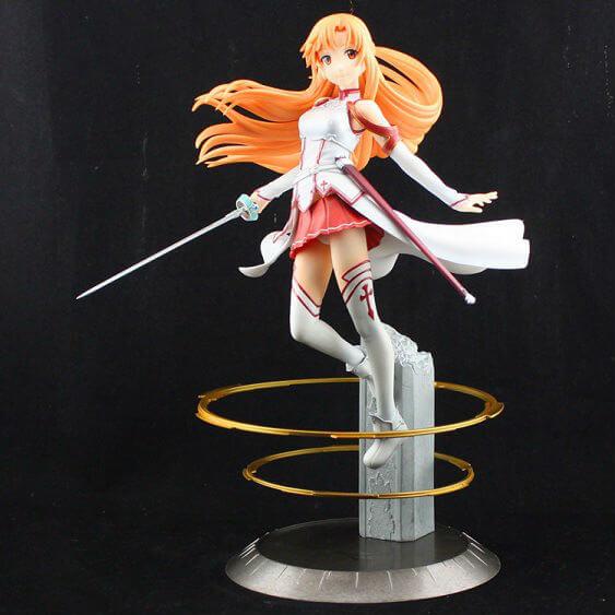 На картинке фигурка Асуна Sword Art Online (SAO), общий вид.