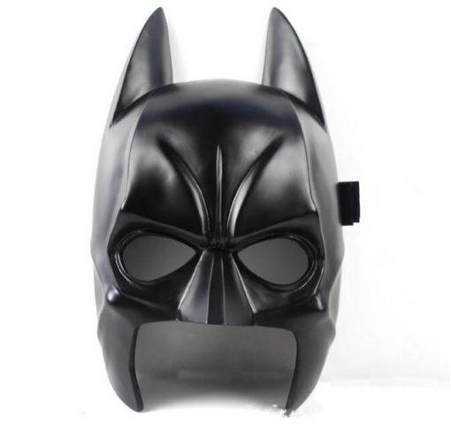 На картинке маска Бэтмена (3 варианта), вид спереди, вариант 3.