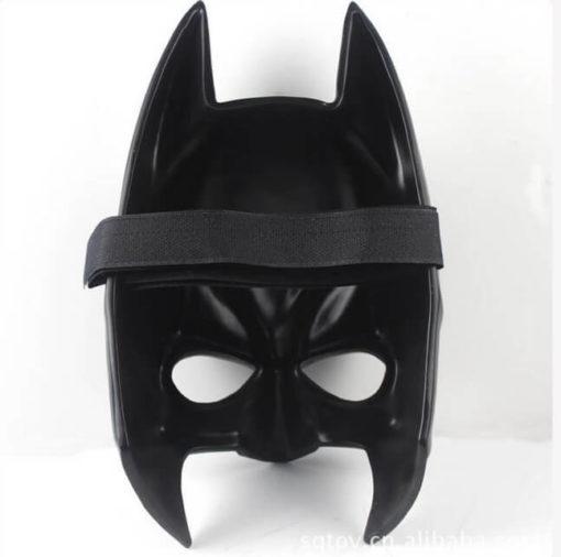 На картинке маска Бэтмена (3 варианта), вид сзади, вариант 3.