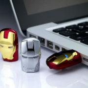 Флешка в виде Железного Человека (Iron Man) фото