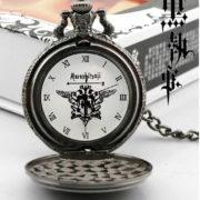Карманные часы Темный дворецкий (Kuroshitsuji) фото