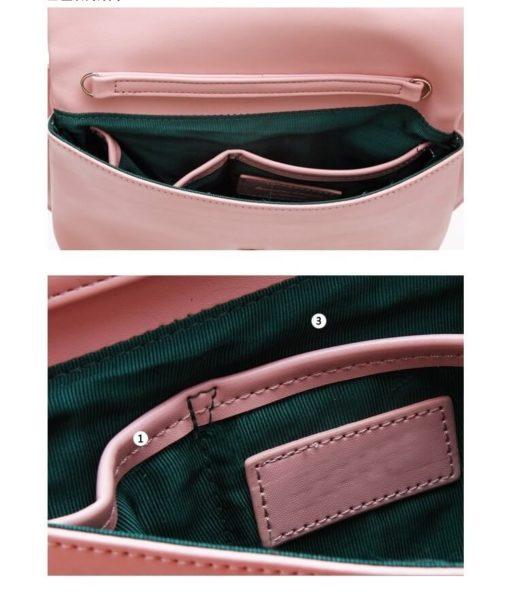 На картинке сумка-клатч кошка (6 вариантов), детали, цвет розовый.
