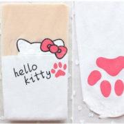 Колготки с эффектом имитации чулок (чулков) Hello Kitty (3 варианта) фото