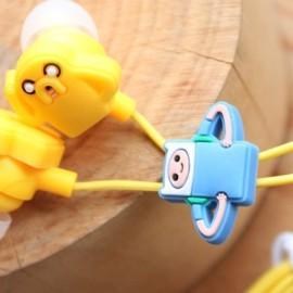 На картинке наушники Время приключений (Adventure time) (4 варианта), вариант 3.