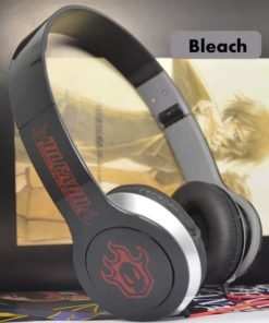 На картинке аниме наушники Блич (Bleach), общий вид.