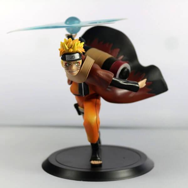 На картинке фигурка Наруто Узумаки с разенганом (Наруто), вид спереди.