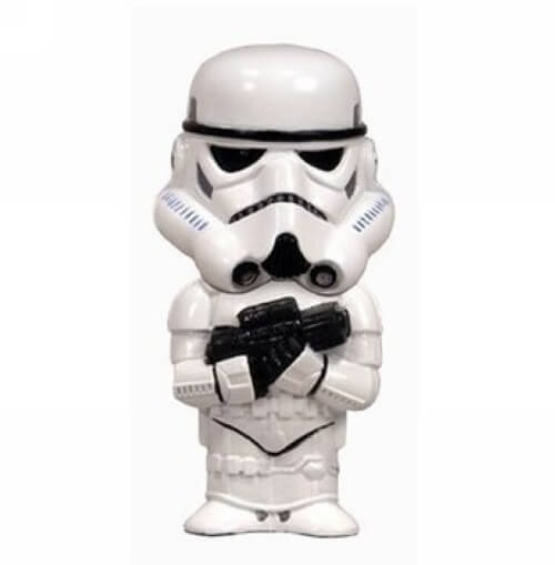 На картинке набор флешек по Звездным Войнам (Star Wars), вариант Штурмовик.
