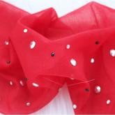 На картинке колготки со стразами (12 цветов), цвет красный.