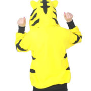 Толстовка тигр с ушками (ушами) на капюшоне фото