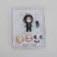 На картинке фигурка нендроид Себастьяна Темный дворецкий (Kuroshitsuji), вид в упаковке.