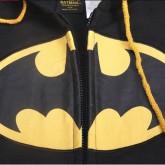 На картинке толстовка Бэтмен (2 варианта), детали, цвет черный.